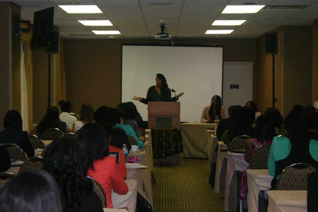 Co-Founder of WIPR Anje Collins and Attendees