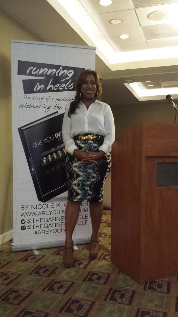 Keynote Speaker Nicole Garner of The Garner Circle